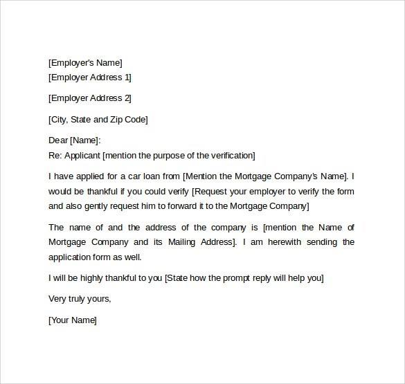 Letter From Employer Confirming Employment | Docoments Ojazlink