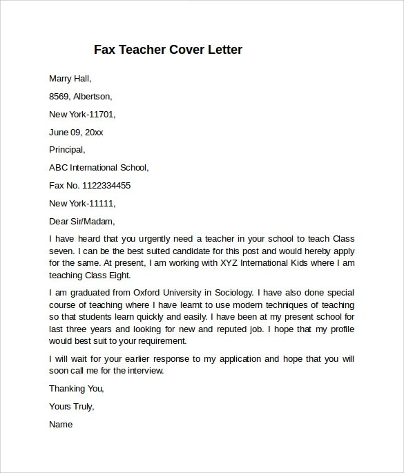 free cover letter sles reasons why schools