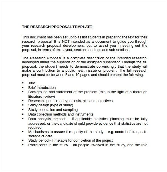 Proposal Paper Template research essay proposal template 1000 – Research Plan Template