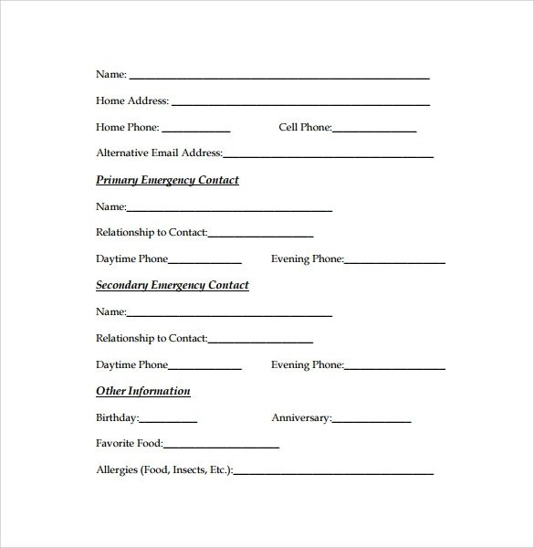 Image Result For Application Form Template