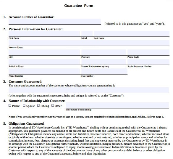 Security Bank Personal Loan Form