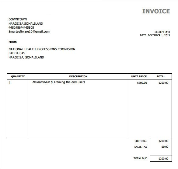 aynax invoice template. basic invoice template free 2016 best, Invoice templates
