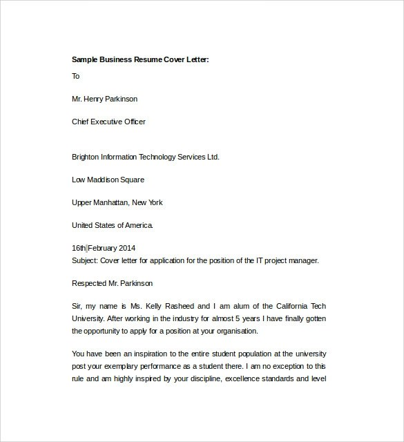 Resume Cover Letter Templates Word 2007. Resume Templates