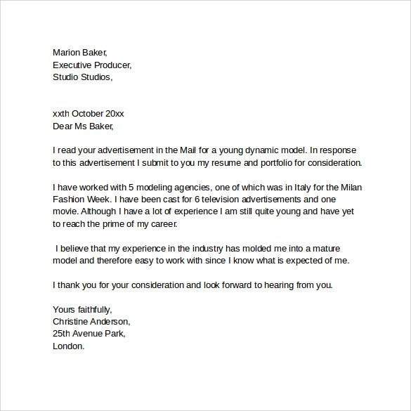 Sample Resume Cover Letter Email. Sample Cover Letter Sample Cover