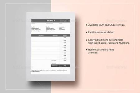 14 HVAC Invoice Templates to Download for Free   Sample Templates Invoice Example in Word