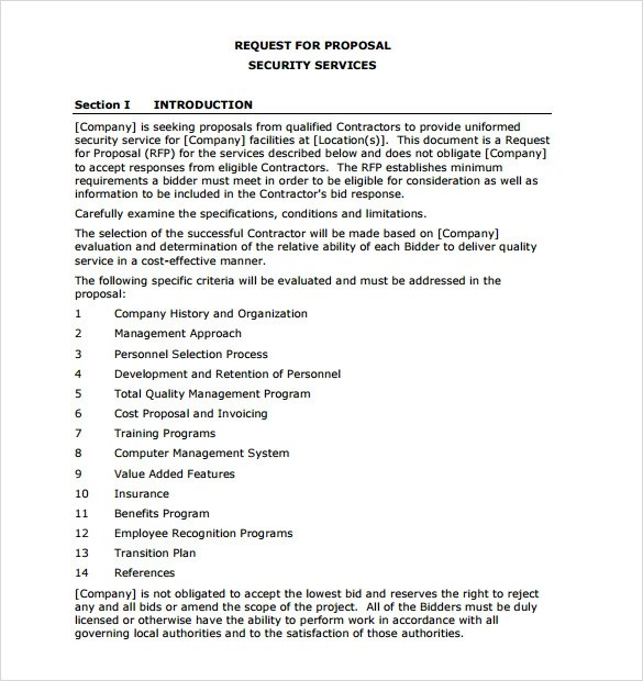 Doc464600 Service Proposal Template Word Proposal Templates – IT Services Proposal Template
