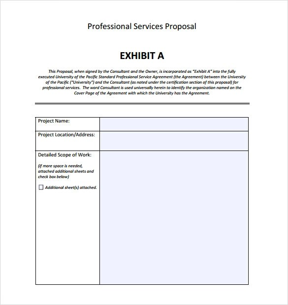consulting proposal template 13 free sample example format. img ...