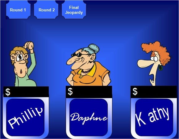 Smartboard Jeopardy Template  smartboard jeopardy template