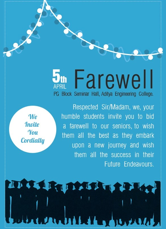9 Amazing Farewell Invitation Templates To Download