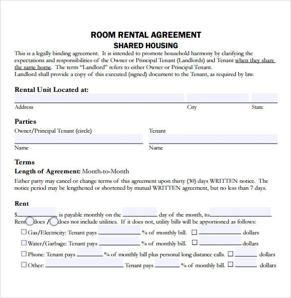 Letting Agreement Template Free. tenancy agreement template ...