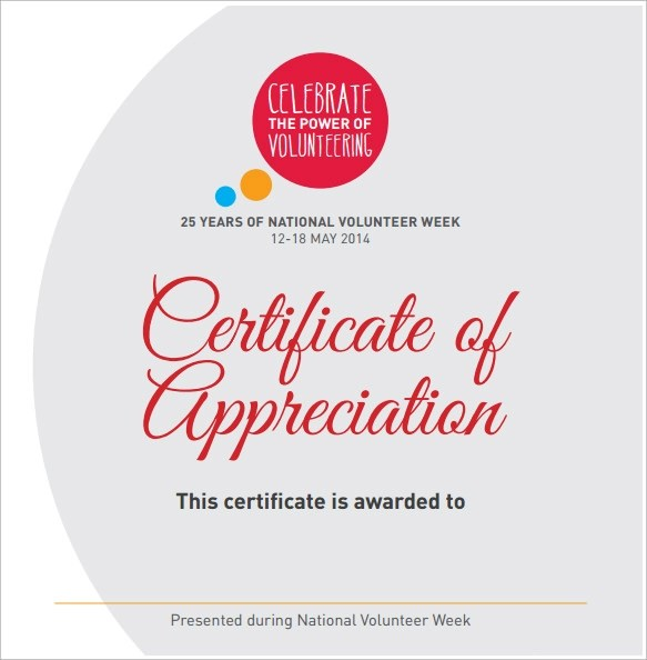 Volunteers certificate templates free download yelopaper Images