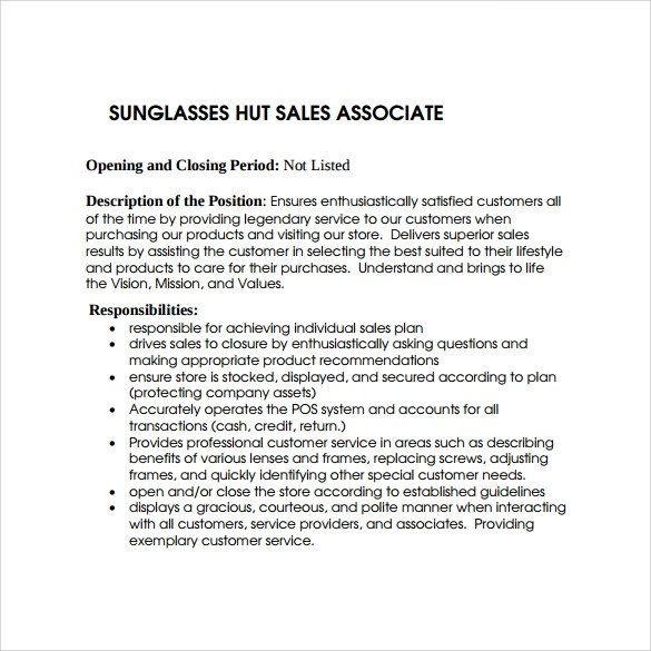 Sales Associates Resume. Sales Associate Resume Samples Visualcv