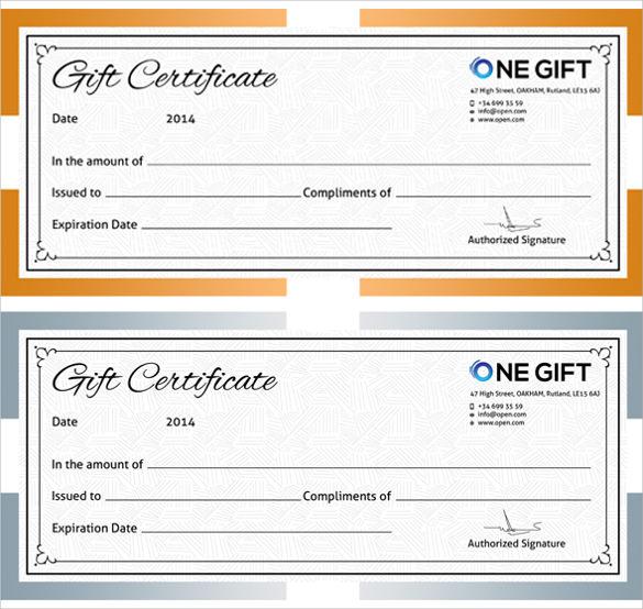 Certificate Template Maker gift certificate template word 31 – Certificate Template Maker