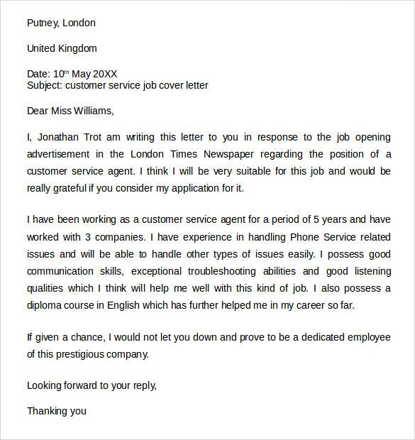 Hospitalist Cover Letter