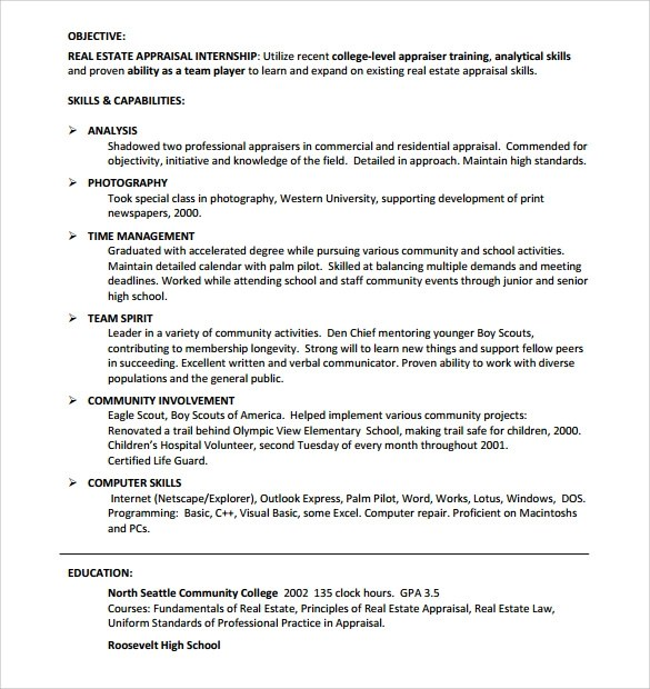 real estate resume real estate resume templates real estate sales