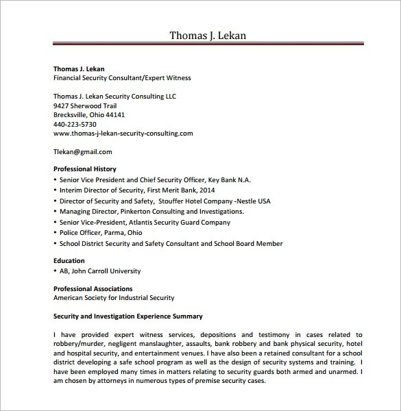 Supply Chain Consultant Resume Examples. Consulting Resume Samples