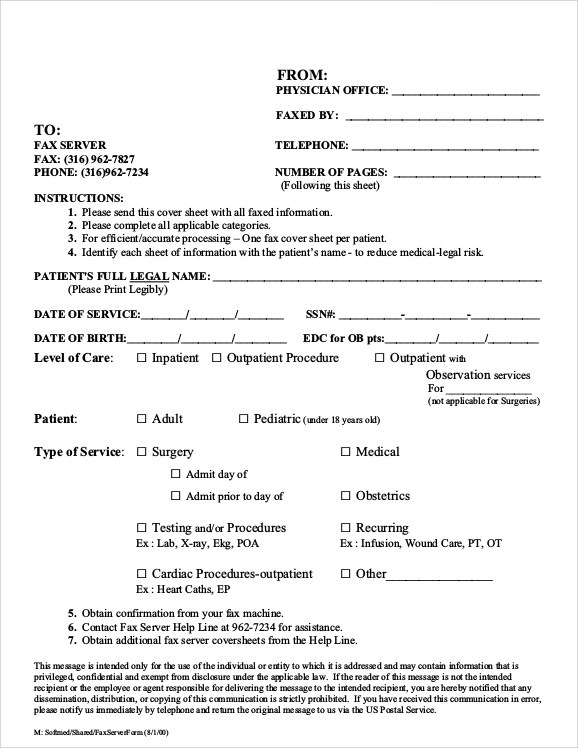 sample fax cover sheet for resume 7 documents in pdf word