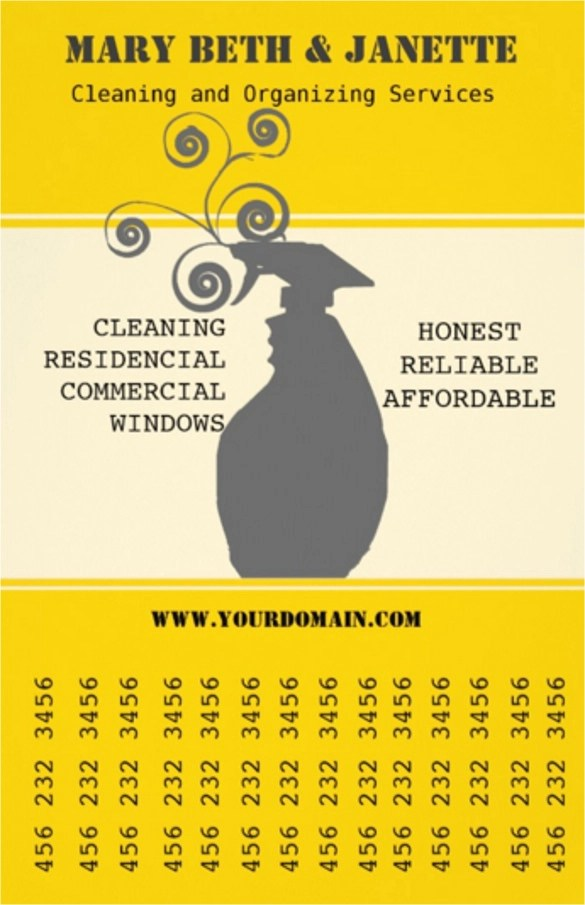 House Cleaning Flyers Template 17 Download Documents In
