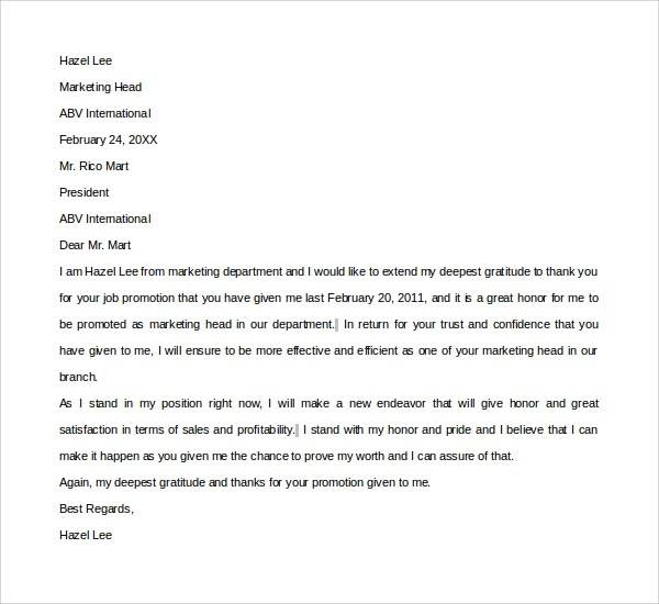 cover letter sample for job promotion sample resume job promotion