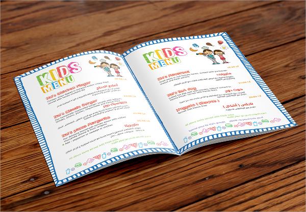 Sample Kids Menu Template 19 Download Documents In PSD PDF