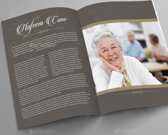 Doc.#700538: Funeral Template Download – Free Funeral Program