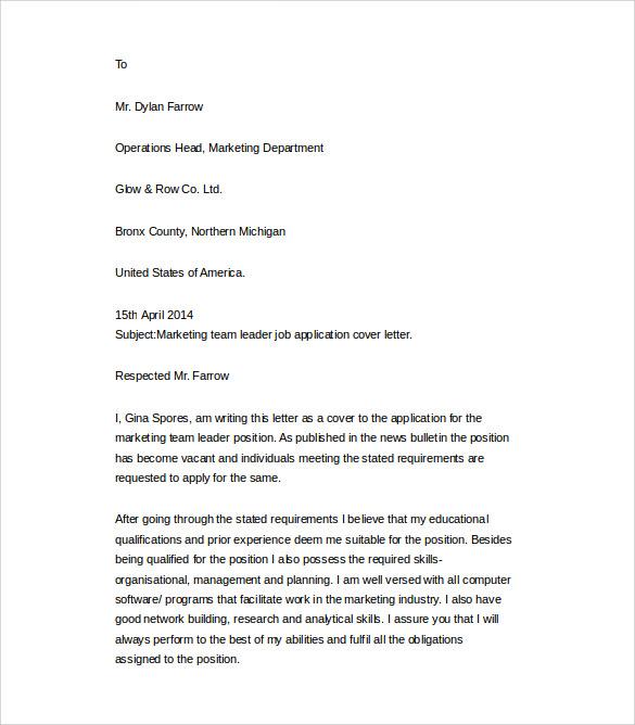 Sample Cover Letter For Resume Word Doc cover letter for resume – Letter Template Word