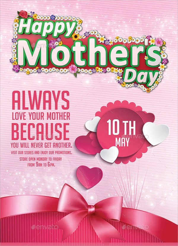 22 Mothers Day Flyer Templates Sample Templates