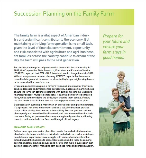 10 Succession Planning Templates Sample Templates