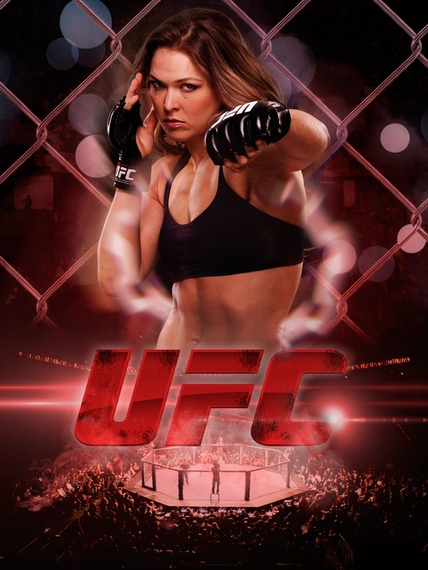 UFC Flyer Template 14 Download In PSD