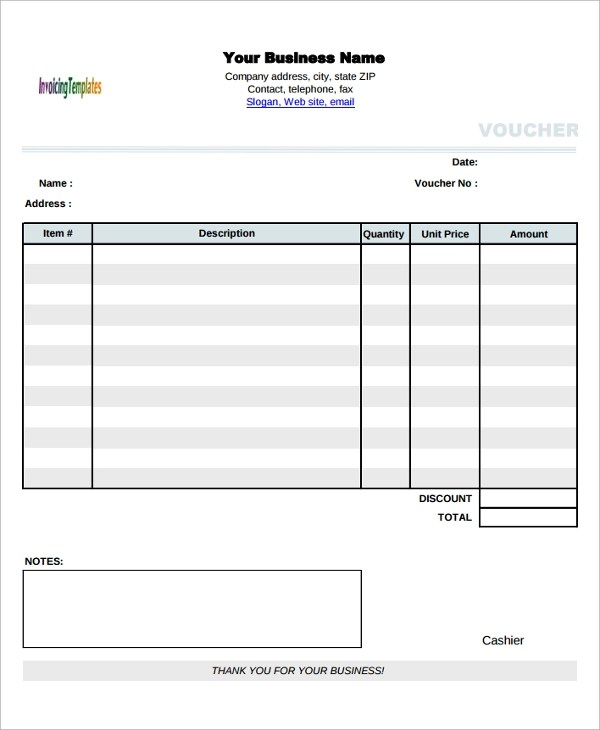 expense report template free formats excel word 12 expense – Expense Voucher Template