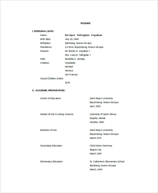 resume academic librarian resume samples school librarian school