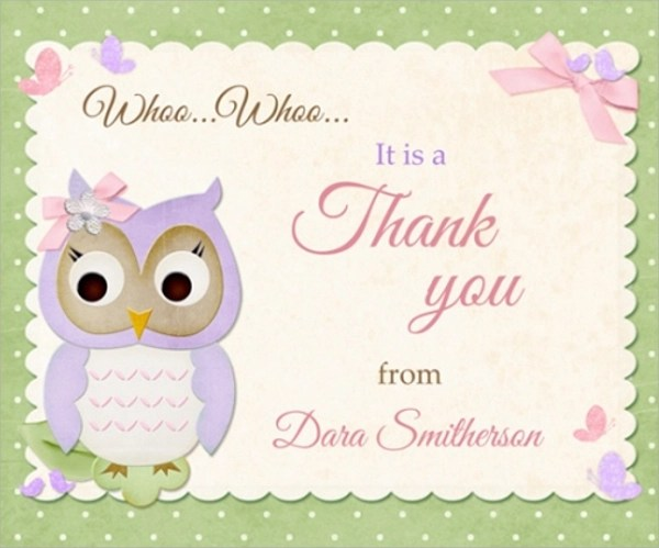 Sample Baby Shower Message 6 Documents Download In PSD PDF