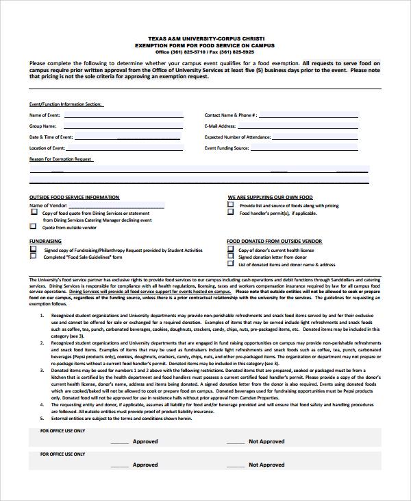 Sample Service Estimate Template 7 Free Documents