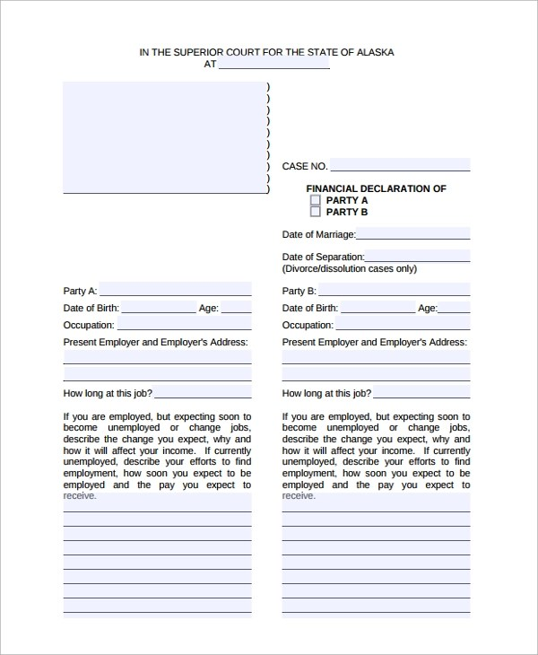 Letter Format » Declaration Letter Format For Courier - Free ...