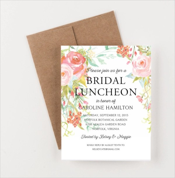 lunch invitation templates in psd