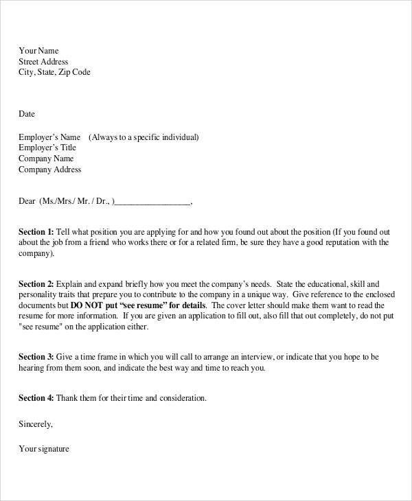 Proper Resume Cover Letter Format. Graphic Design Cover Letter