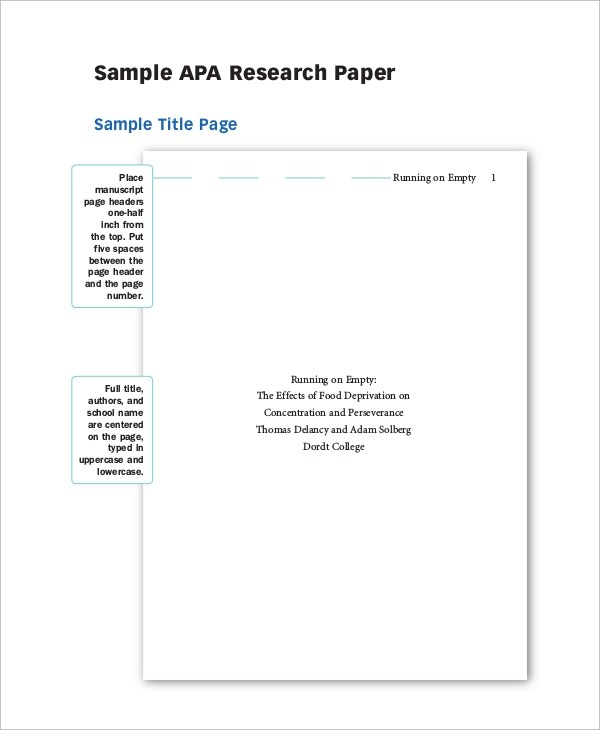 Research Paper Cover Page Template Png Mla Format Sample ASB Th  ringen