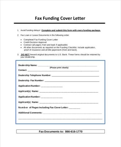 Cover Letter For Funding Application Sample - Cover Letter Templates