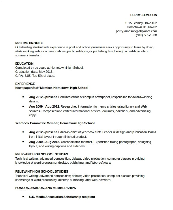 example of a resume profile resume examples profile resume profile