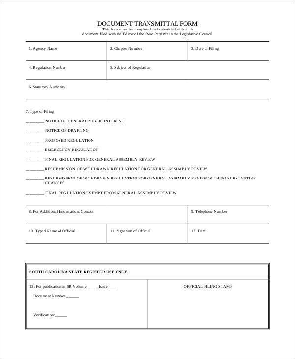 Document Transmittal Form Template job resumes word format new – Transmittal Format