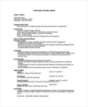 Entry Nursing Resume Examples – name