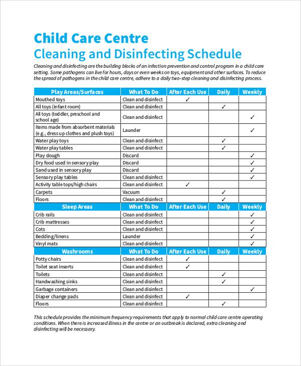 Sample Schedule 47 Examples In Pdf Word Excel