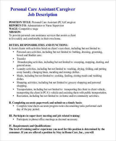 pca job description pca resume sample on free with pca resume sample pca resume sample