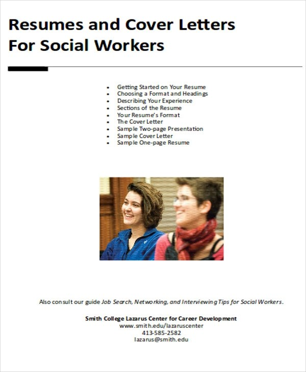 7 Sample Social Worker Cover Letter Free Sample Example Format Download