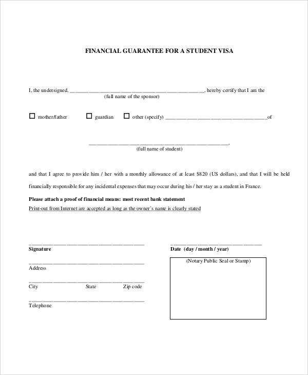 Guarantee letter guarantee letter templates free word pdf format bank guarantee letter articleezinedirectory guarantee letter sample altavistaventures Choice Image