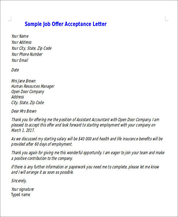 offer rejection email tolg jcmanagement co