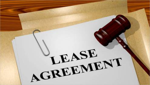 39 Lease Agreement Forms   Sample Templates img  A lease agreement