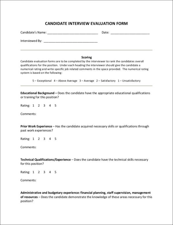 Importance Of An Employee Evaluation 10 Downloadable Templates And Samples