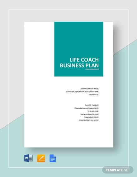FREE 11+ Coaching Plan Templates in PDF | MS Word | Pages | Google ...