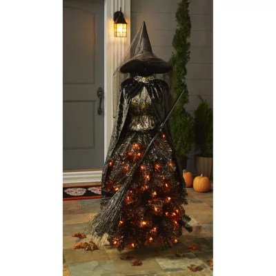 Members Mark 5 Halloween Witch Dress Form Tree Sams Club